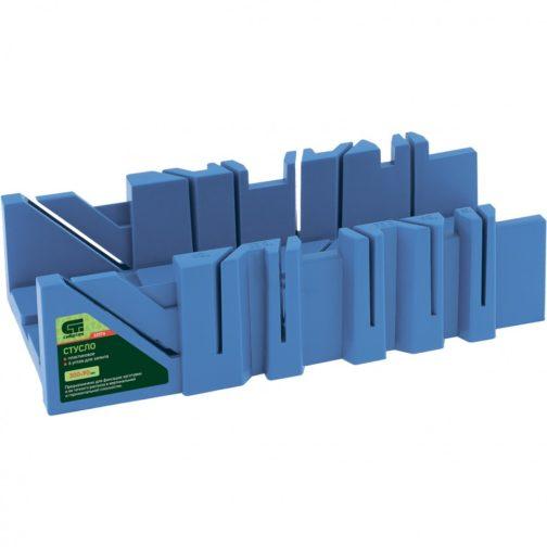 Стусло пластиковое, 300 х 90 мм, 6 углов для запила Сибртех