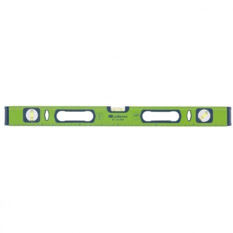 Уровень алюминиевый УС-1, 0-1200, фрезерованный, 3 глазка, рукоятки, 1200 мм Сибртех 34104