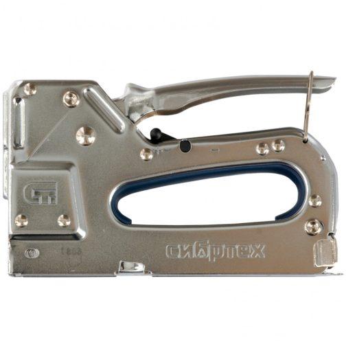 Степлер мебельный, металлический, регулируемый, тип скобы: 53, 4-14 мм Сибртех 40101