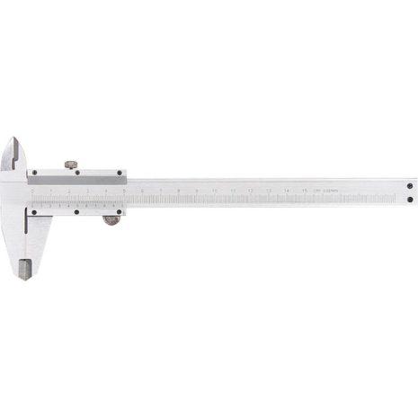 Штангенциркуль, 150 мм, цена деления 0,02 мм, металлический, с глубиномером Matrix 316315