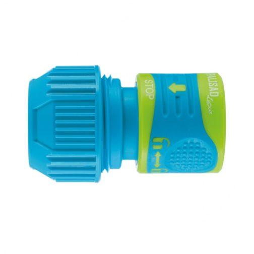 Соединитель для шланга универсальный, аквастоп, двухкомпонентный PALISAD 66246