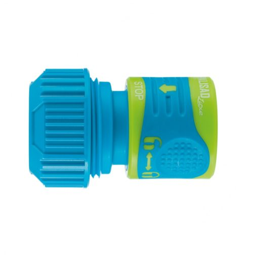 Соединитель для шланга 3/4, аквастоп, двухкомпонентный PALISAD 66242