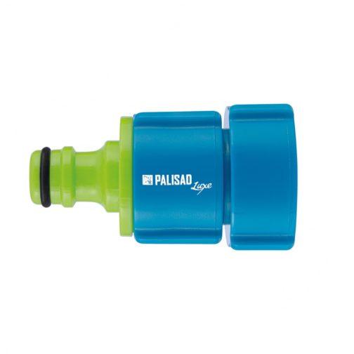 Адаптер пластмассовый, 1/2-3/4-1, внутренняя резьба, Luxe Palisad 66470