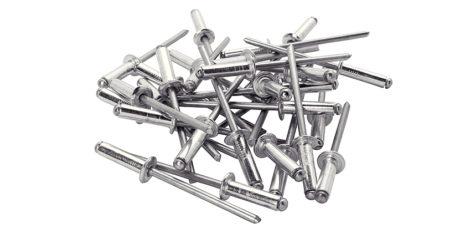 Заклепка вытяжная алюминий-сталь