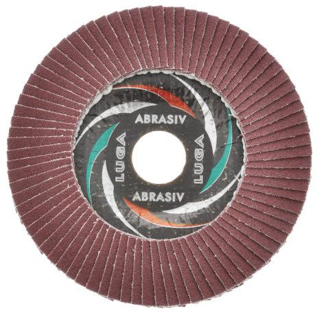 Круг лепестковый торцевой ЛУГА 115х22,2 (Р40\Р60\Р80)