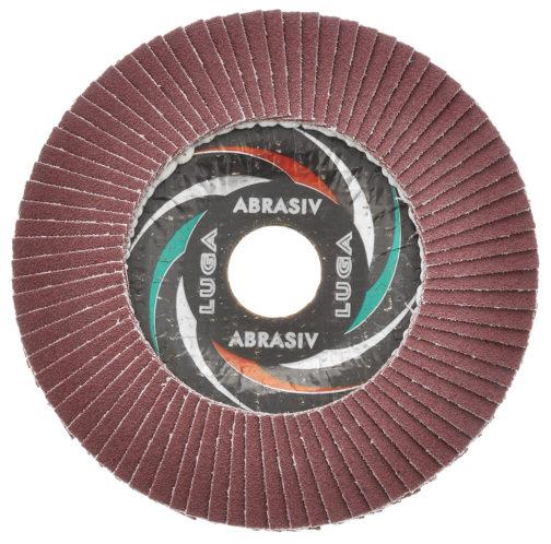 Круг лепестковый торцевой ЛУГА 150х22,2 (Р40\Р60\Р80)