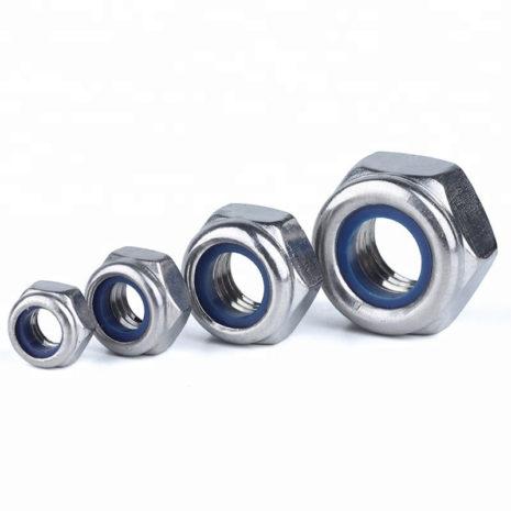 Гайка с нейлоновым кольцом DIN 985  M8