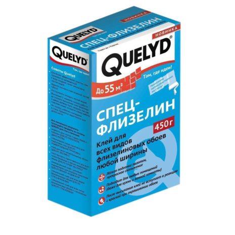 ОБОЙНЫЙ клей QUELYD (Спец-ФЛИЗЕЛИН) 450г.