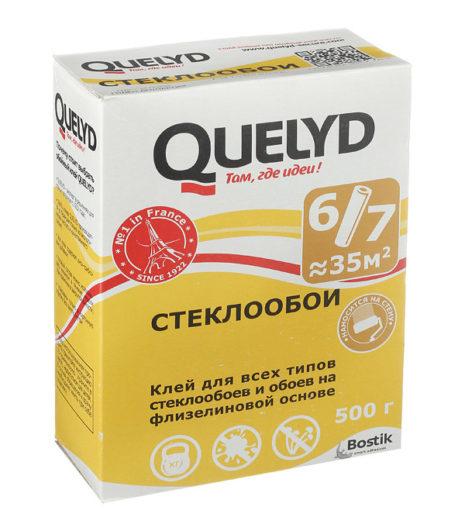 ОБОЙНЫЙ клей QUELYD (СТЕКЛООБОИ) 500г.