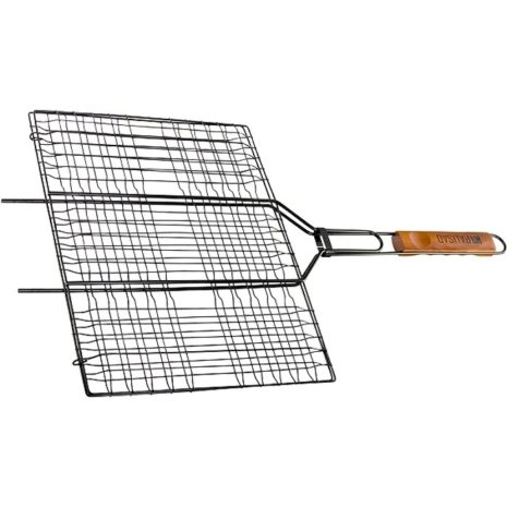 Решетка гриль 300 х 400 мм, антипригарное покрытие, Camping Palisad 69560