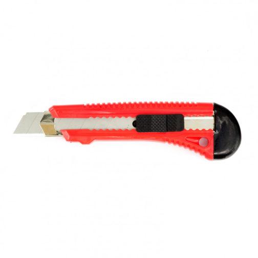 Нож, 18 мм, выдвижное лезвие, металлическая направляющая Matrix