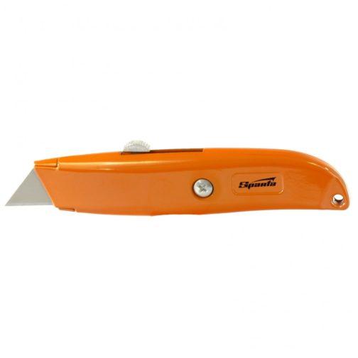 Нож, 19 мм, выдвижное трапециевидное лезвие Sparta