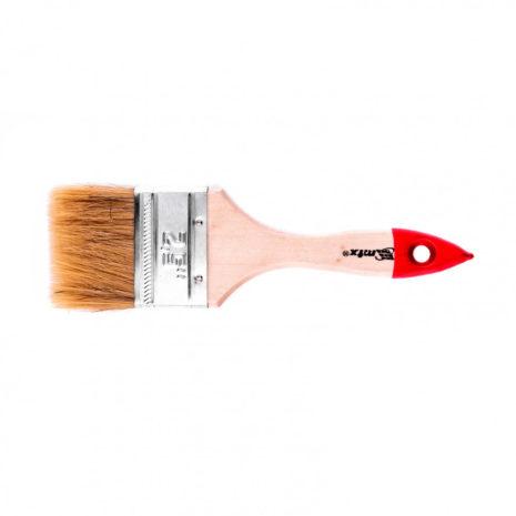"""Кисть плоская """"Стандарт"""" 2,5″ (63 мм), натуральная щетина, деревянная ручка MTX 82535"""