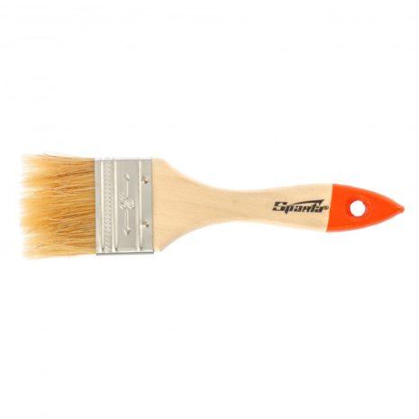 Кисть плоская SlimLine 2, натуральная щетина, деревянная ручка Sparta 824305