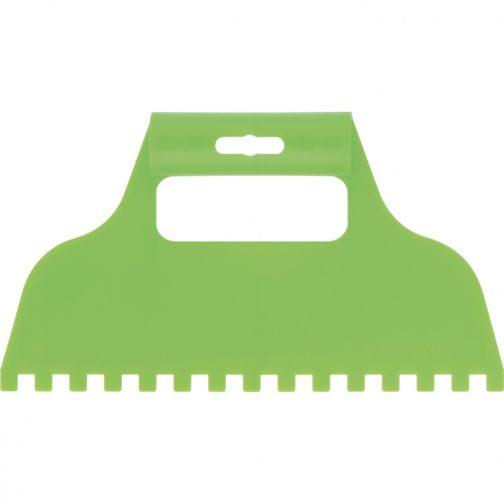 Шпатель для клея, пластмассовый, зубчатый 8 х 8 мм Сибртех 86016