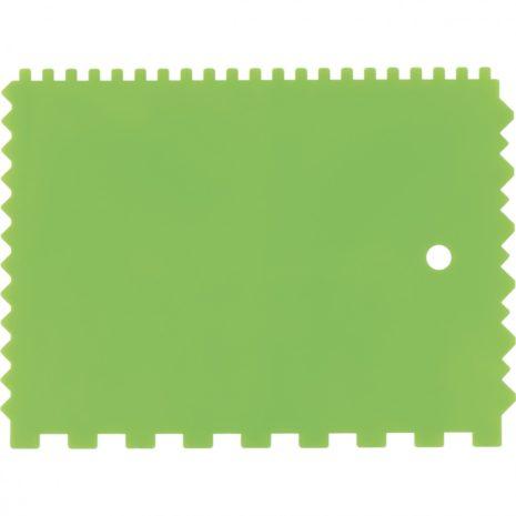 Шпатель для клея, пластмассовый, 130 х 170 мм, зубчатый Сибртех 86018