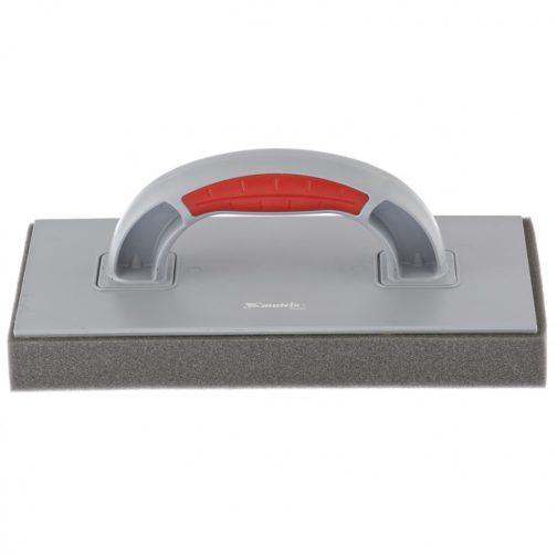 Терка пластмассовая, губчатое покрытие 30 мм, 270 x 130 мм, двухкомпонентная ручка Matrix 86805