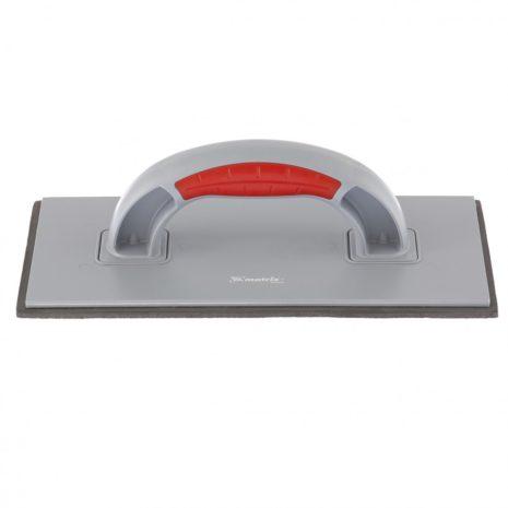 Терка пластмассовая, резиновое покрытие 4 мм, 270 x 130 мм, двухкомпонентная ручка Matrix 86808