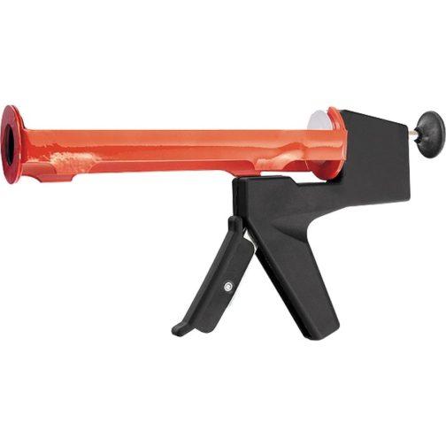 """Пистолет для герметика, 310 мл, """"полуоткрытый"""", противовес, круглый шток 8 мм Matrix 88666"""