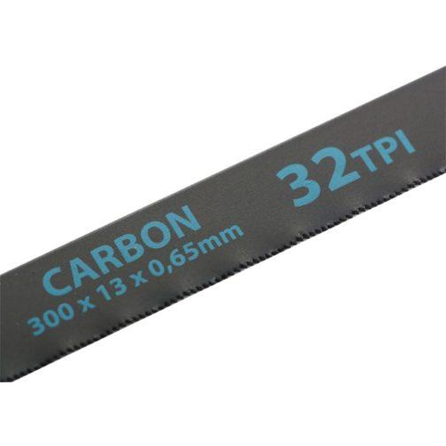Полотна для ножовки по металлу, 300 мм, 32 TPI, Carbon, 2 шт Gross