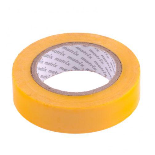 Изолента ПВХ, 15 мм х 10 м, желтая, 150 мкм Matrix 88773