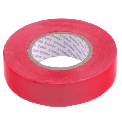 Изолента ПВХ, 19 мм х 20 м, красная, 150 мкм Matrix 88779