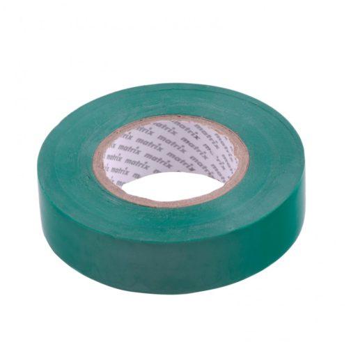Изолента ПВХ, 19 мм х 20 м, зеленая, 150 мкм Matrix 88781