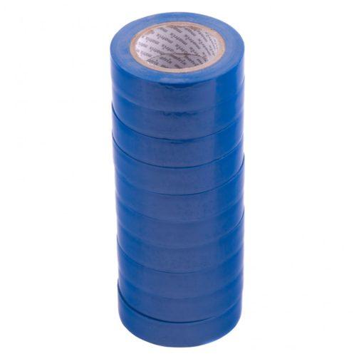 Набор изолент ПВХ 15 мм х 10 м, синяя, в упаковке 10 шт, 150 мкм Matrix 88784