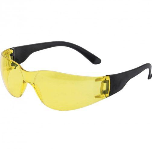 Очки защитные открытые, поликарбонатные, желтые ОЧК202 (0-13022) Россия 89172