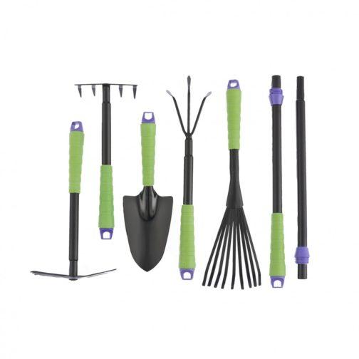 Набор садового инструмента, пластиковые рукоятки, 7 предметов, Connect Palisad 63020