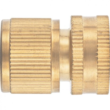 Соединитель латунный, быстросъемный, внутренняя резьба 3/4, аквастоп Palisad 66268