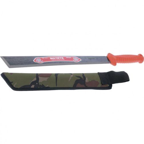 Мачете туристическое 490 мм, пластиковая рукоятка, жесткий чехол (АРТИ) Россия 60401