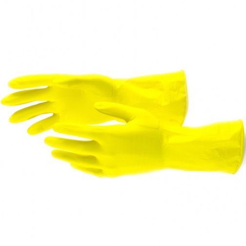 Перчатки латексные, M Сибртех 67877