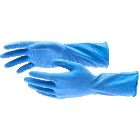 Перчатки латексные c хлопковым напылением, M Elfe 67886