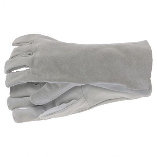 Перчатки спилковые с манжетой для садовых и строительных работ, размер XL Сибртех 67904