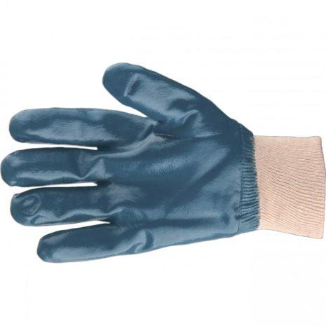 Перчатки трикотажные с обливом из бутадиен-нитрильного каучука, манжет, L Сибртех 67831