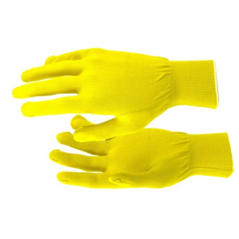 Перчатки Нейлон, 13 класс, цвет лимон, L Россия 67822