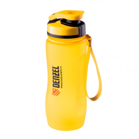 Бутылка спортивная 600 мл Denzel 69490
