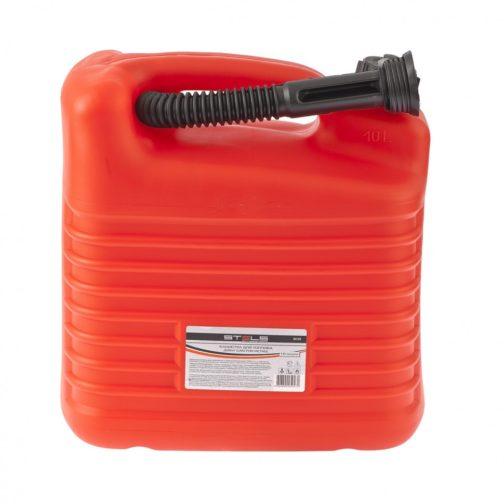 Канистра для топлива, пластиковая, 10 л Stels 53122