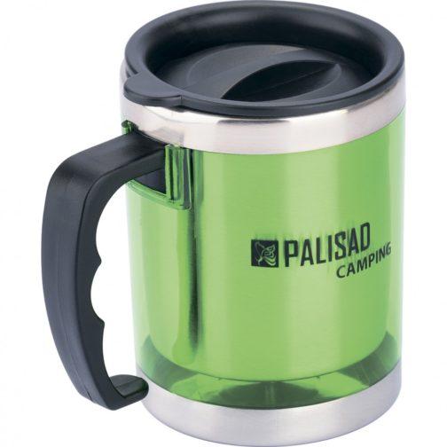 Термокружка с крышкой-поилкой в пластиковом корпусе, 300 мл Camping Palisad 69531