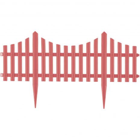 "Забор декоративный ""Гибкий"", 24 x 300 см коралловый Palisad 65018"