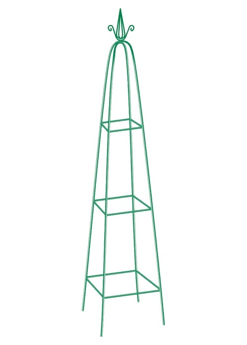 Пирамида садовая декоративная для вьющихся растений, 198 х 33 см, пирамида Palisad 69127