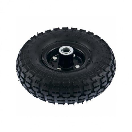 Колесо пневматическое 4.10/3.50-4, колесо D 260 мм. внутренний подшипник D 20 мм, длина оси 50 мм PalisaD 68970