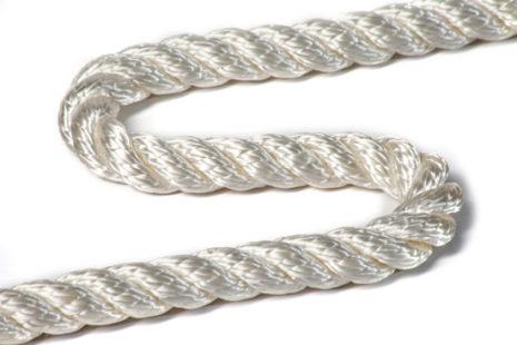 Канат полиамидный тросовой свивки ГОСТ 30055-93 D19мм