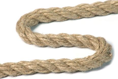 Канат джутовый тросовой свивки ТУ 8121-006-05137933-2008 D19мм