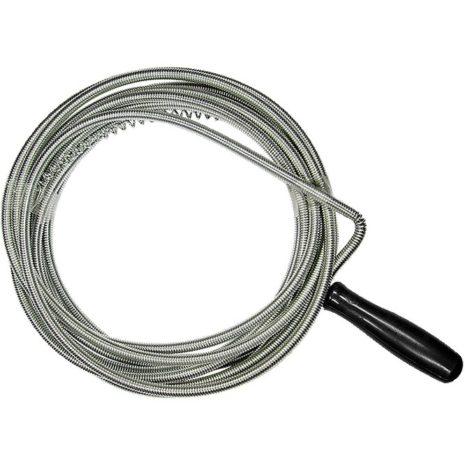 Трос для прочистки труб, L-3 м, D 6 мм Сибртех 92460