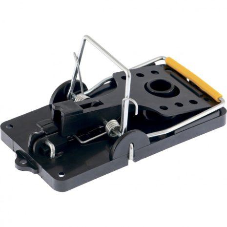 Мышеловка-крысоловка пластиковая открытая, металлический механизм, большая, 140 х 75 мм Сибртех 94123