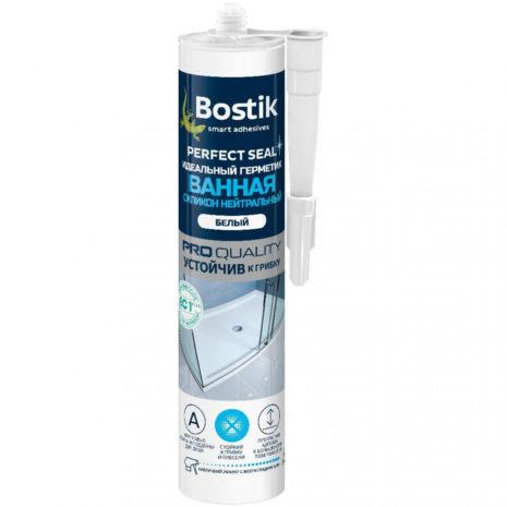 Герметик BOSTIK ванная силиконовый белый 280мл