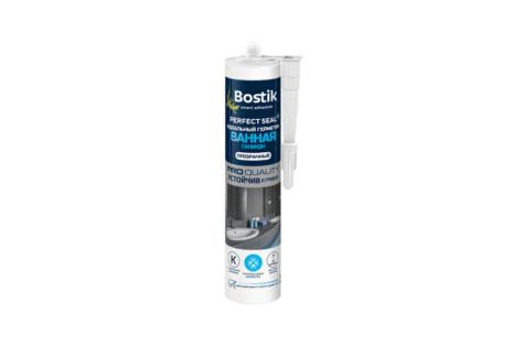 Герметик BOSTIK ванная силиконовый прозрачный 280мл