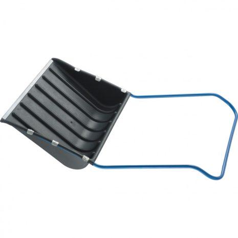 Движок для уборки снега пластиковый, 735х555х1250 мм, стальная рукоятка, Россия Сибртех 61592